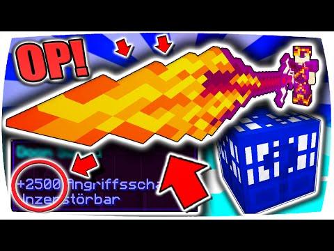 GIGANTISCHES OP FEUER-SCHWERT mit 2500 ANGRIFFSSCHADEN!! ● Minecraft: Ultra OP Lucky Block Battle