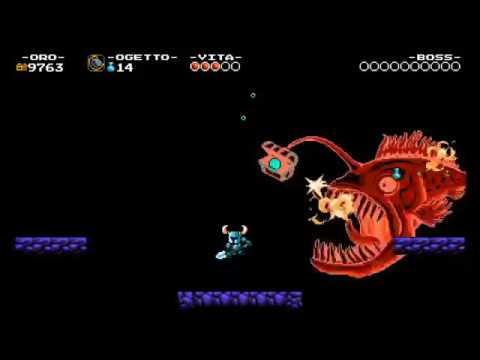 Shovel knight - Battiamo treasure knjght