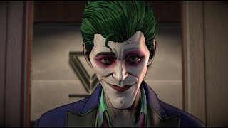 Villain Joker Poisons Wayne Enterprises - (Batman: The Enemy Within - Episode 5: Same Stitch)