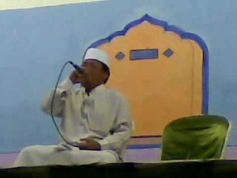 H Muammar ZA  Haul tuan syeikh Abdul Qadir Al Jaelani, thn.2012 di PP KH Jundan Janabi