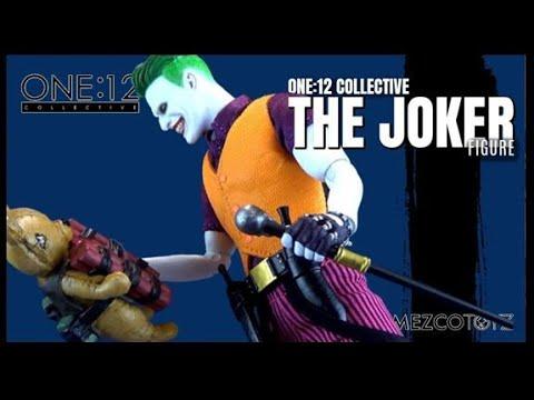 Mezco Toyz One\:12 Collective DC Comics The Joker (Clown Prince of Crime Edition) Figure Review