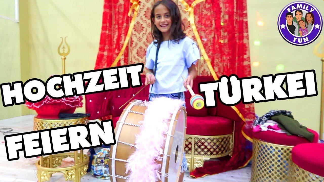 Turkische Hochzeitsfeier Dugun Turkei Traditionelles Turkisches