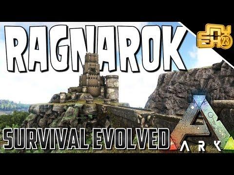 ARK RAGNAROK MAP - THE BEST PVP BASE LOCATIONS!! (HIDDEN LOCATIONS)