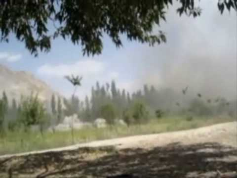 A-10 ground attack in Afghanistan