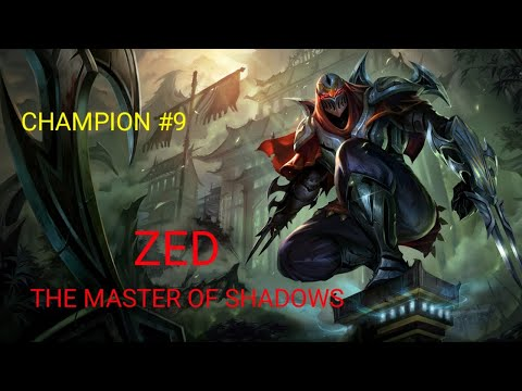 Champion ZED, Master of Shadow - League of Legends