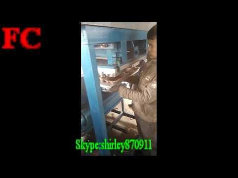 10 holes egg tray /box making machine export to Azerbaijan