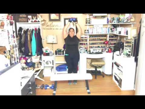 Weight Loss Journey – Upper Body workout. Cathe. Strong and Sweaty