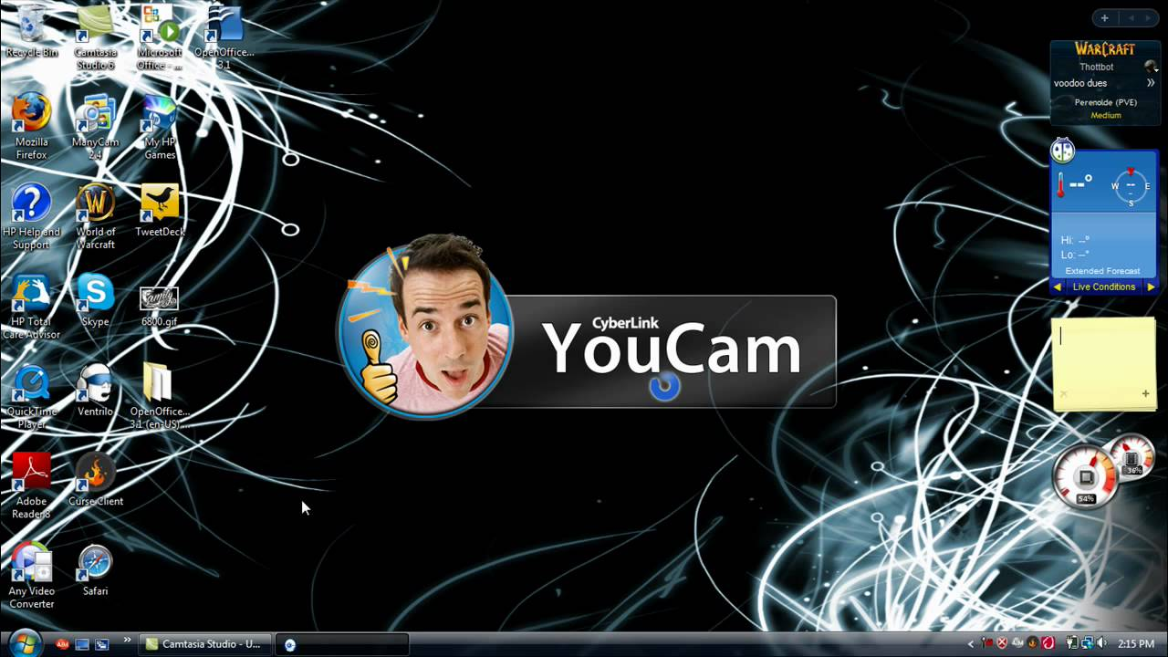 how to turn on webcam on hp laptop