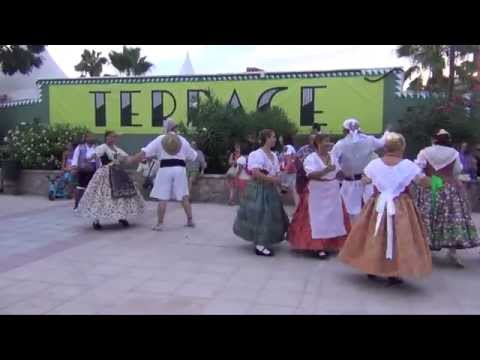 Grup Danses Morvedre Fiestas Puerto Sagunto 2015 - Dansà Popular