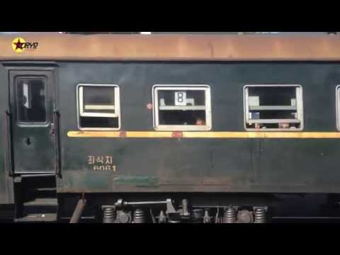 North Korean Locals on a Train