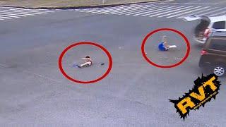 Niños salen expulsados en accidente de auto por no utilizar cinturón de seguridad.