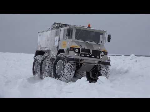 Automotive Trans-Arctic Expedition - RAVENOL «Burlak»