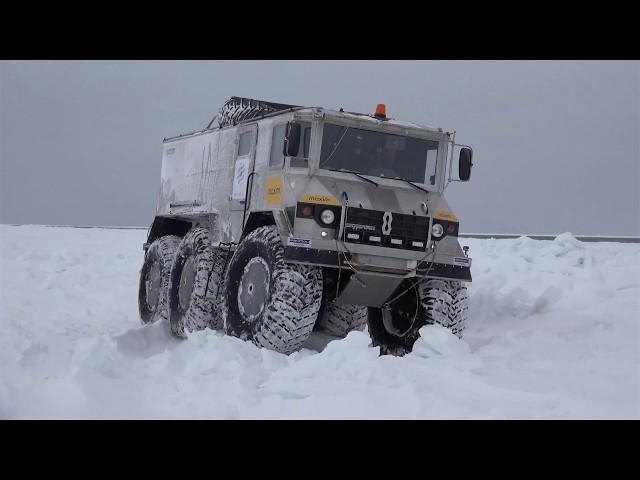 Automotive Trans-Arctic Expedition - RAVENOL «Burlak»