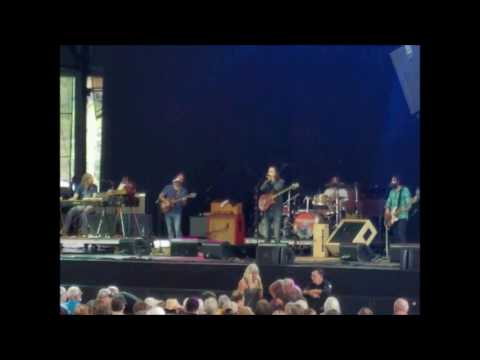 Chris Robinson Brotherhood 9-18-16 Outlaw Music Festival Scranton, PA