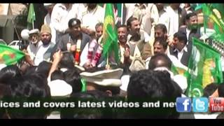 PML-N  rally against load-shedding in Abbottabad 02 April 2012 - Report by HCP