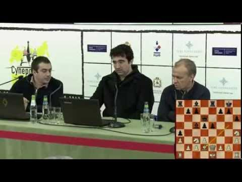Владимир Крамник - 5-ый тур Суперфинала России 2013 года