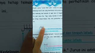 Materi DTA Kelas 3 tentang Belajar Menulis Qur'an