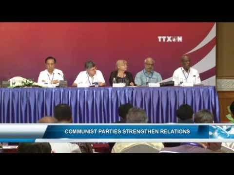 COMMUNIST PARTIES STRENGTHEN RELATIONS