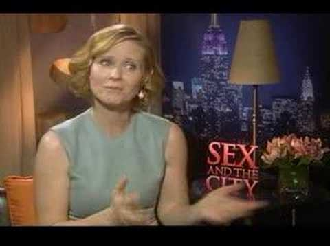 Cynthia Nixon interview for the Sex and the City movie