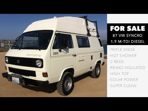Syncro 87 m-TDI High Top with Diff Locks For Sale
