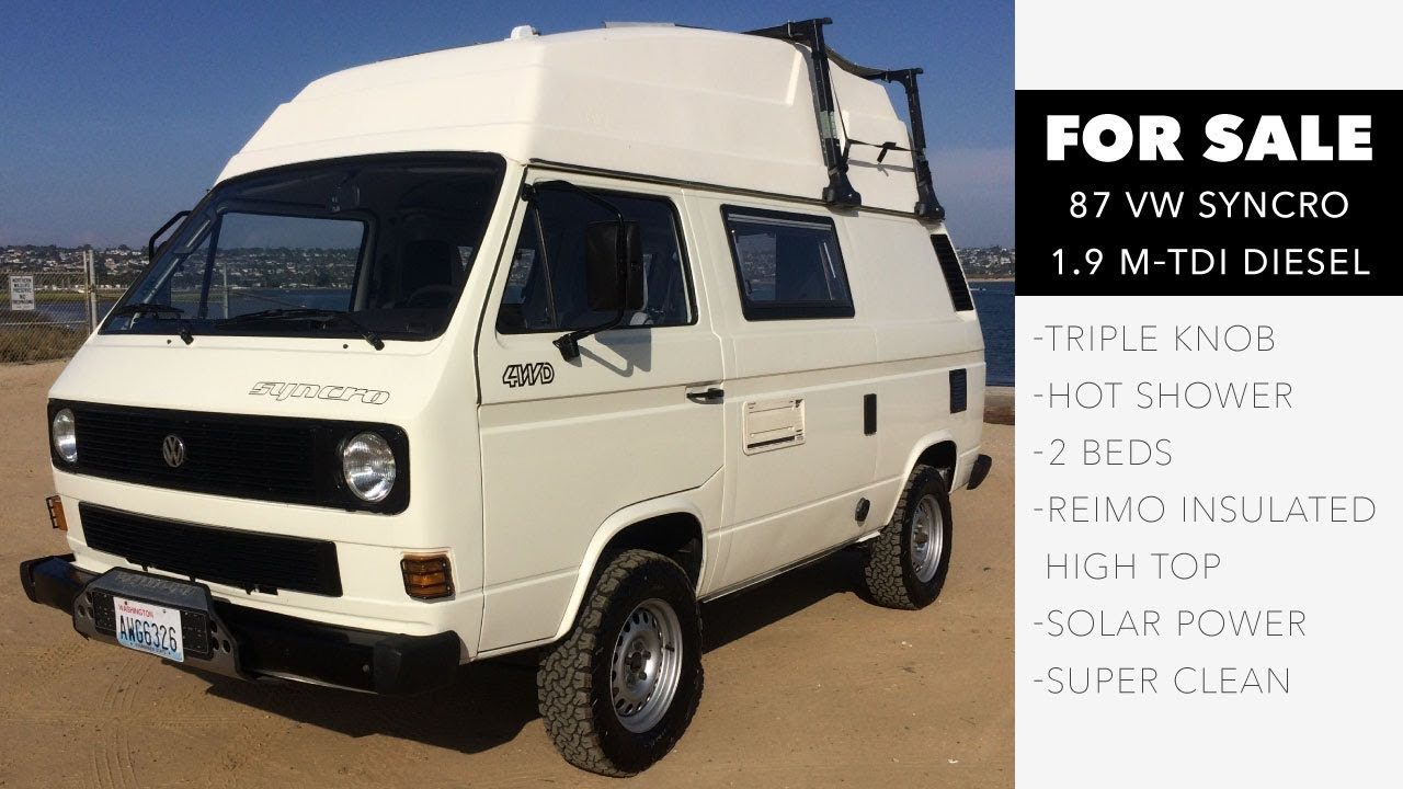 Syncro 87 m-TDI High Top with Diff Locks (SOLD)