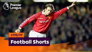 Superb Goals | Premier League 1998/99 | Beckham, Gascoigne, Ferdinand