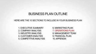 Non Profit Business Plan Outline