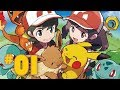 Let's Play Pokemon: Let's Go Pikachu & Eevee - Part 1 - On the Road!