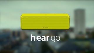 sony h ear go wireless speaker official product video