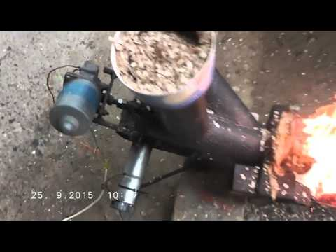 Woodchipp,pellets homemade burner