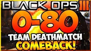 """BLACK OPS 3 - """"0-80 TEAM DEATHMATCH COMEBACK!"""" - Team Challenge #30! (BO3 HUGE Comeback TDM WIN)"""