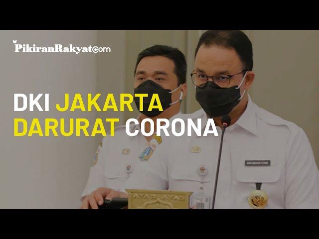 DKI Jakarta Darurat Virus Corona, Gubernur Anies Terapkan PSBB Ketat & Tiadakan Aturan Ganjil Genap