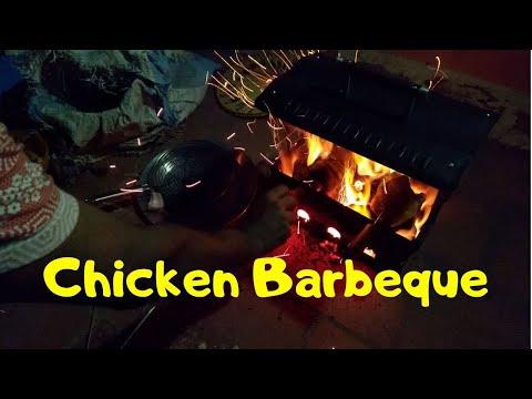 HOW TO BURN CHARCOAL FOR BBQ   BENGALI CHAITRA SANKRANTI CELEBRATION