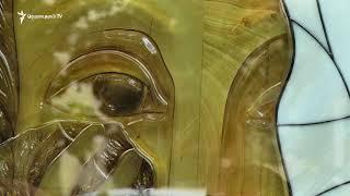 Գեղագիտական ազգային կենտրոնի մուտքի մոտ տեղադրվեց Փարաջանովի «Արտասվող Ջոկոնդա»-ի կրկնօրինակը