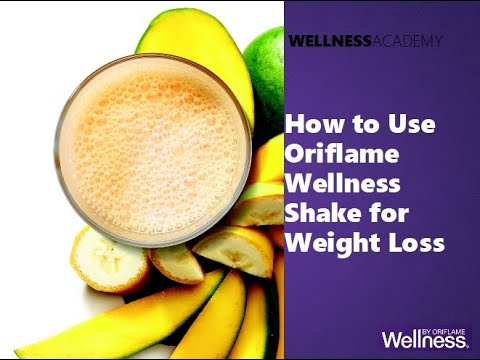 How to Use Oriflame Wellness Shake for Good Health and Weight Management