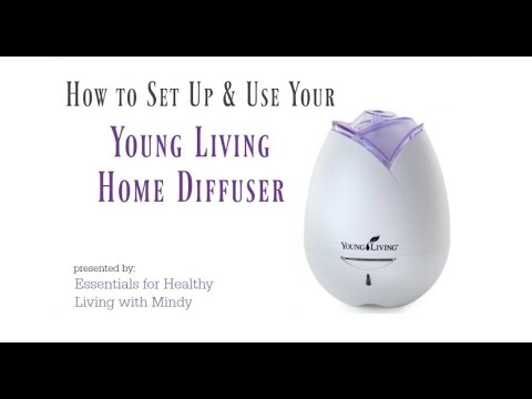 How To Set Up And Use Your Young Living Home Diffuser Plus My
