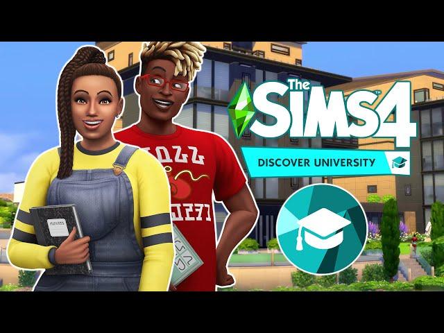 Sims 4 EGYETEM Ilyen az egyetemi élet    Discover University Gameplay Trailer + screenshots TS4