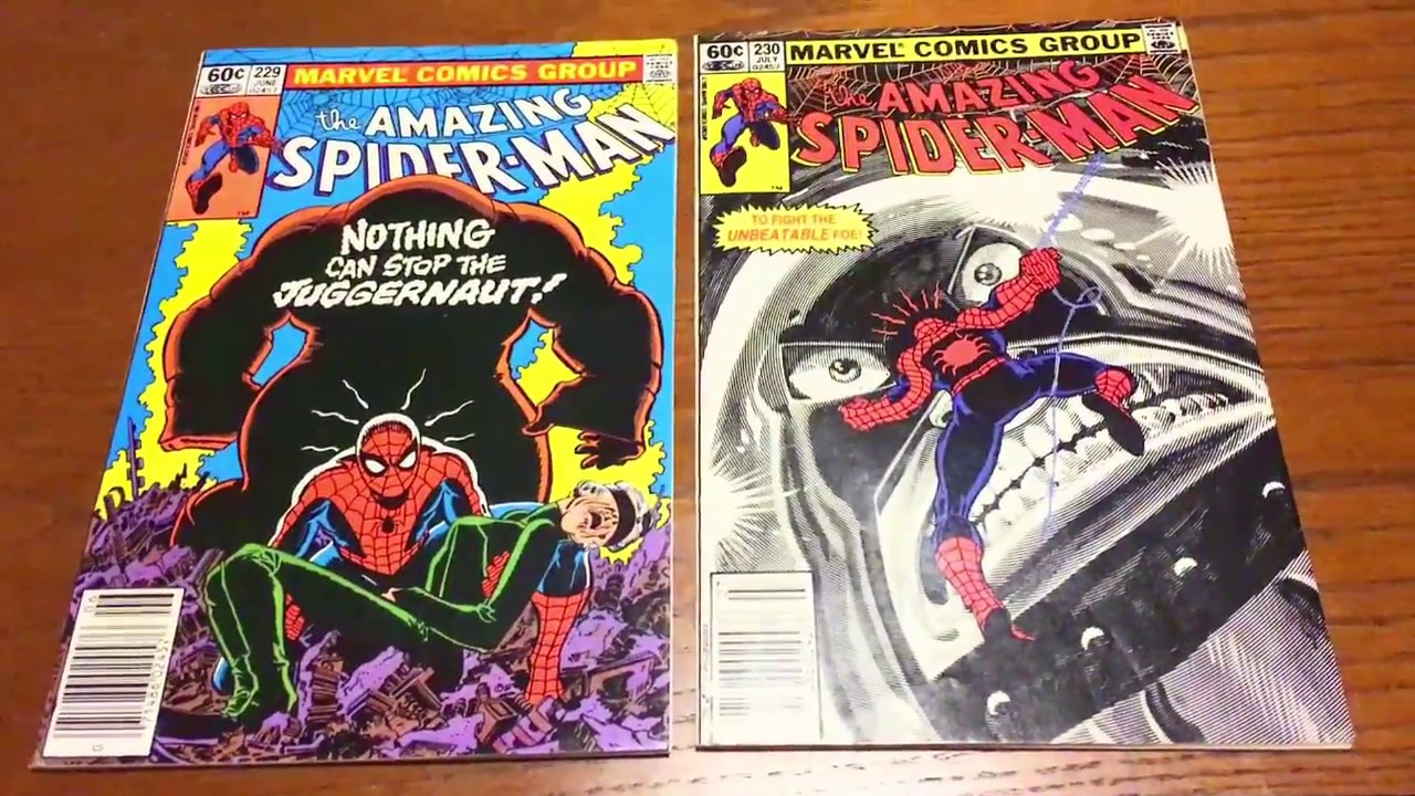 Image result for amazing spider man 229 230