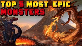 Top 5 Most Epic Monsters in Warhammer Fantasy Lore