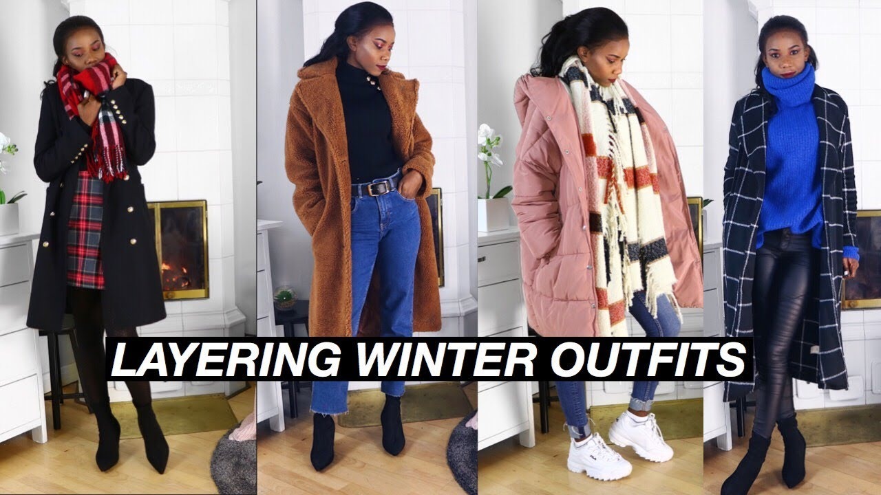 LAYERING OUTFITS FOR COLD WEATHER |WINTER 2019| ALICE HAUTANEN 7