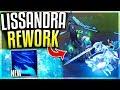 NEW LISSANDRA REWORK EXPLODES ENEMIES IN ICE!? Lissandra Passive Rework Gameplay - League of Legends