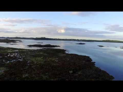 Strangford lough by drone