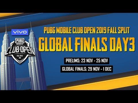 [ID Bahasa] PMCO Global Finals Day 3 | Vivo | Fall Split | PUBG MOBILE CLUB OPEN 2019