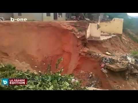 Commune de Mongafula: Le quartier DUMEZ fait face a des érosions, Kinshasa