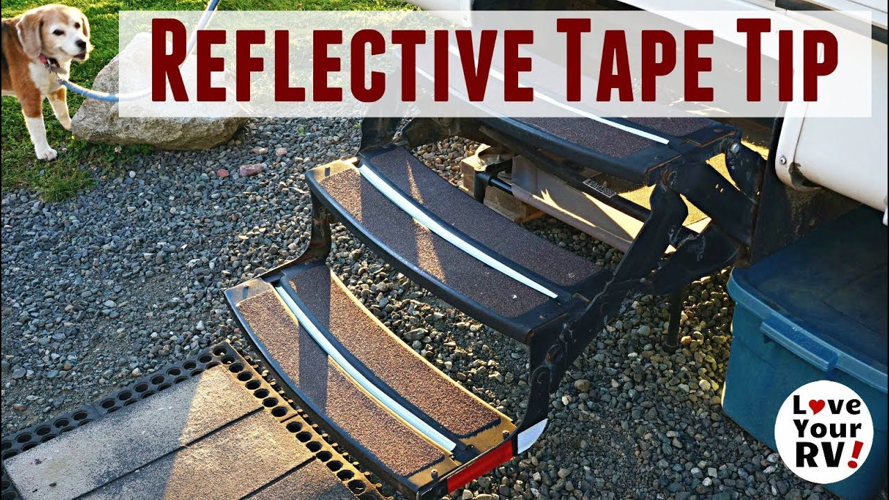 reflective-tape-on-rv-step-for-added-safety-tip