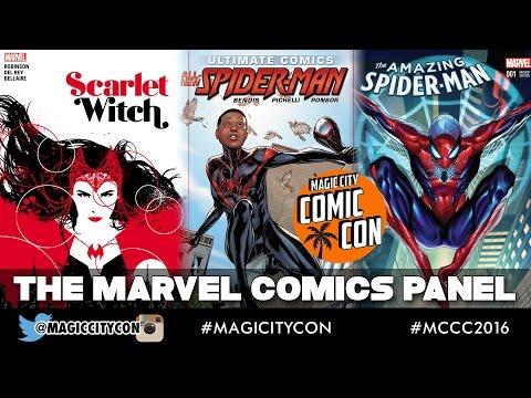 The Marvel Comics Panel at Magic City Comic Con Jan 2016