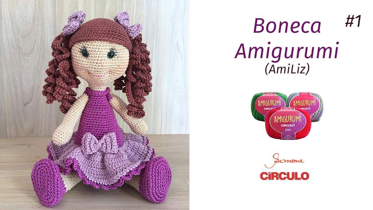 Boneca amigurumi | Bichinhos de croche, Bonecas de croche ... | 720x1280
