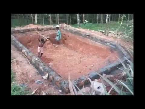How To Build A Backyard Pond: Digging The Hole U0026 Sidewall Construction