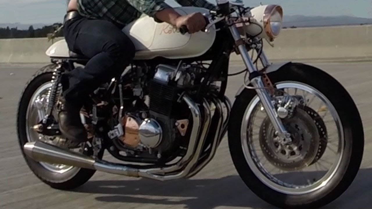 Kott Motorcycles 1971 Honda CB750 Custom Cafe Racer GoPro