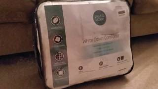 puredown White Goose Down Comforter 100% Cotton Shell Down Proof Duvet Review, Incredible comforter!